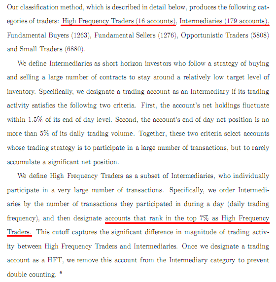 From the CFTC Flash Crash Report